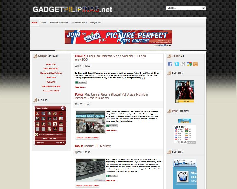 Capture - Gadget Pilipinas celebrates its 6 months of web-existence with a brand new look