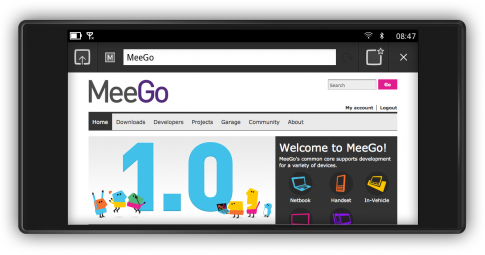 meego - Meego Handhelds UX Runs on N900
