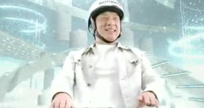 Jackie Chan Safeguards your Posts with Kaspersky 2010