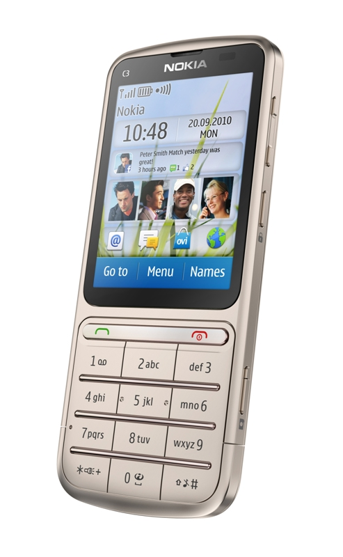 , Nokia reintroduces its 'Touch and Type' design with the Nokia C3-01 and X3-02, Gadget Pilipinas