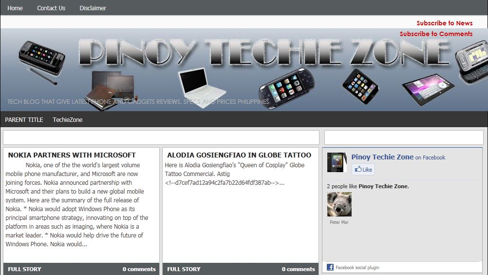 ptz - New Blogging Partner: Pinoy Techie Zone