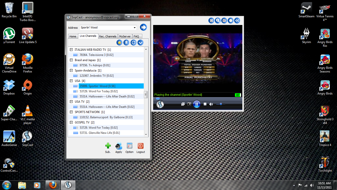 SopCast - Watch Manny Pacquiao vs Juan Manuel Marquez Live On Your PC Like A Ninja *UPDATE