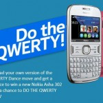 Do the QWERTY dance and win a new Nokia Asha 302