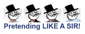 Pretending to be an Apple Exec Like a Sir