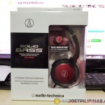 Audio-Technica ATH-WS55 Solid Bass Headphone Review