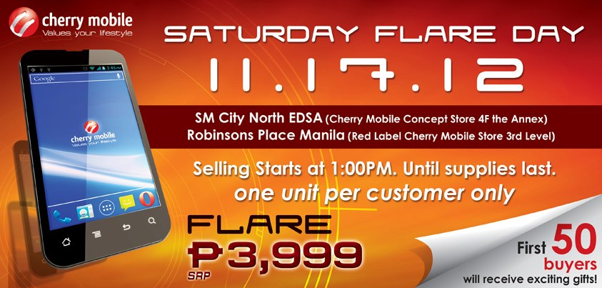 , Are you Ready for the Cherry Mobile Flare Day?, Gadget Pilipinas