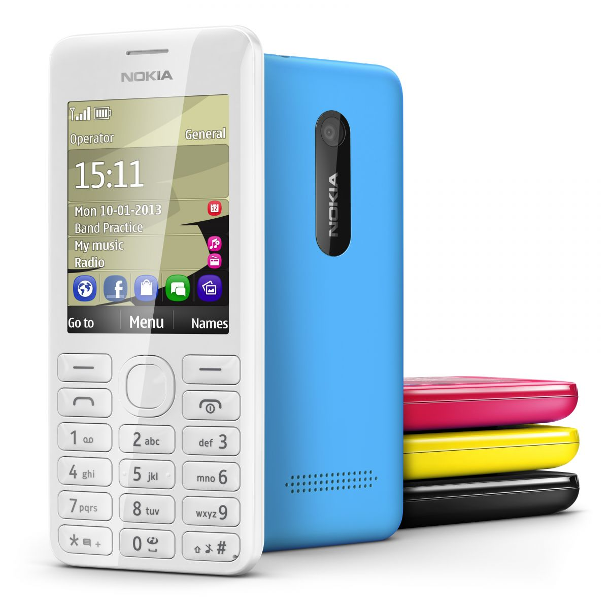 Nokia, Nokia 206, Mountain Phone, Long Batt Life