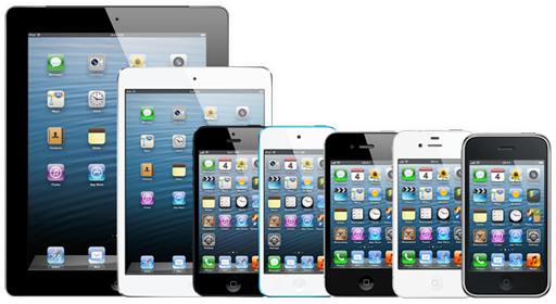 iOS6, iPhone3GS, iPhone4, iPhone4S, iPhone5, iPad2, Ipad3, Ipad Mini, iPod Touch, iTouch