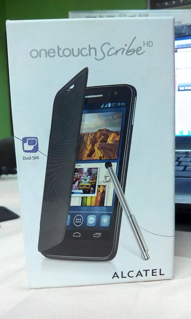 Alcatel One Touch Scribe HD, Alcatel One Touch Scribe HD Review, Gadget Pilipinas