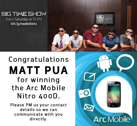 Matt Pua - Giveaway: Arc Mobile 400D