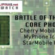 cherry mobile razor, myphone iceberg, starmobile knight