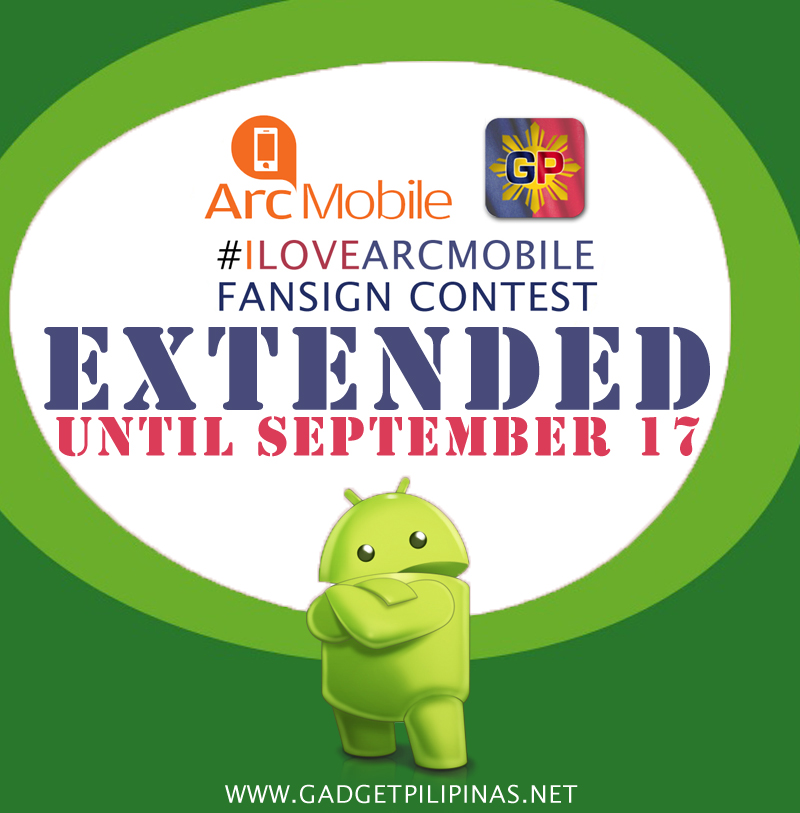 arc mobile contest, I Love Arc Mobile Contest Entry Page for Mobile Devices, Gadget Pilipinas, Gadget Pilipinas