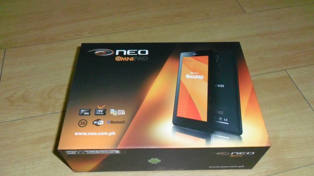 NEO Omnipad M71-3G Unboxing and Review