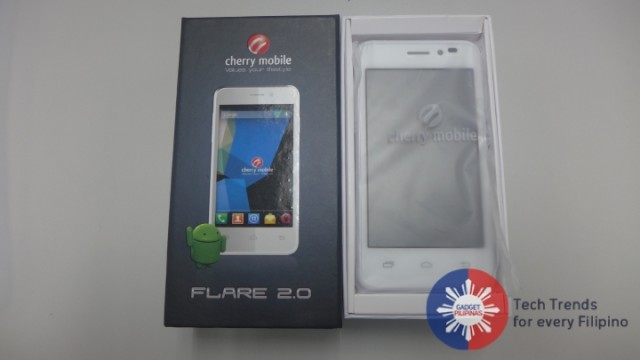 Flare 2.0 Unboxing 4 640x360 - Cherry Mobile Flare 2.0 Unboxing, First Impressions and Giveaway