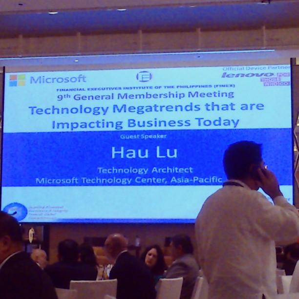 Technology Megatrends - Microsoft Philippines Teams Up with FINEX for a Special Mission