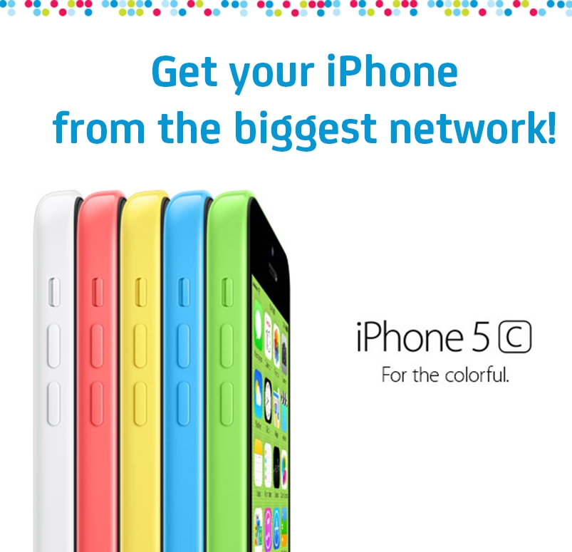 iphone 5c - Smart Postpaid and Smart Infinity Launch iPhone 5s and iPhone 5c Plans