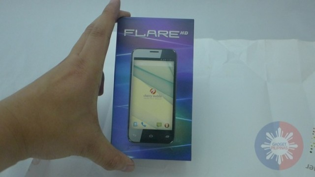 Cherry Mobile Flare HD Unboxing 2 640x360 - Cherry Mobile Flare HD Unboxing and First Impressions