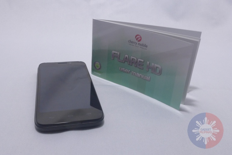 Cherry Mobile Flare HD Unboxing and First Impressions