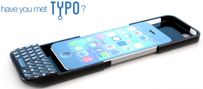typo 3 - Typo Keyboard Case Helps You Type Faster Using your iPhone 5s