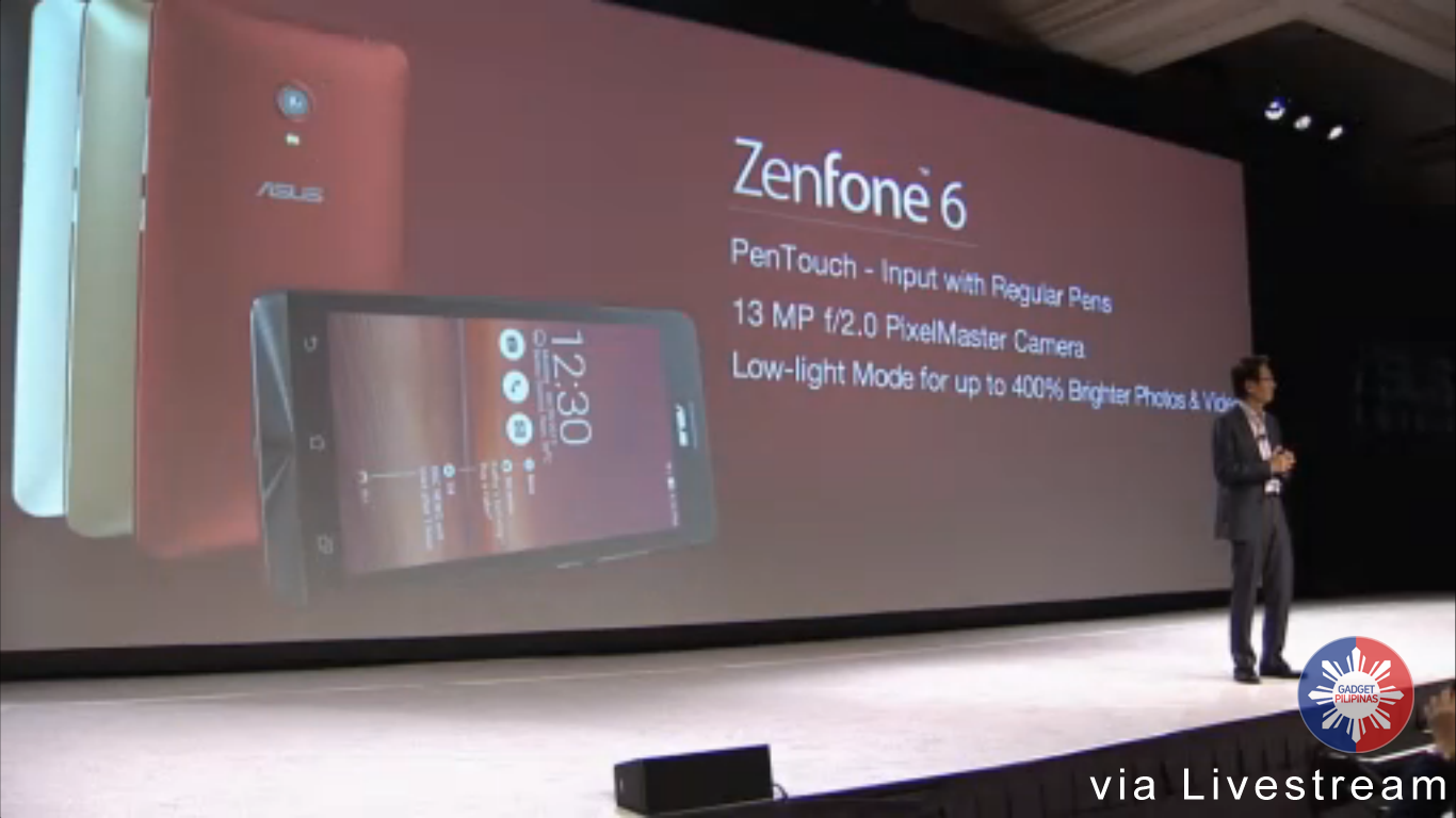 zenphone6 - Asus Launches Zenfone Series