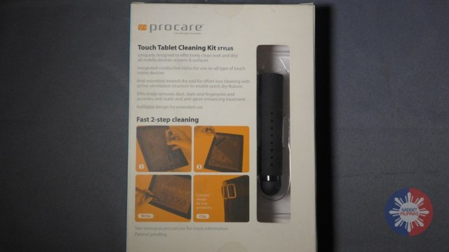 Touch Tablet Cleaning Kit 4 640x360 - Bite-sized Review: Clean Your Tablet with Procare Touch Tablet Cleaning Kit