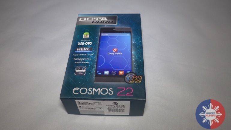 Cosmos Z2 2 - Cherry Mobile Cosmos Z2 Unboxing and First Impressions