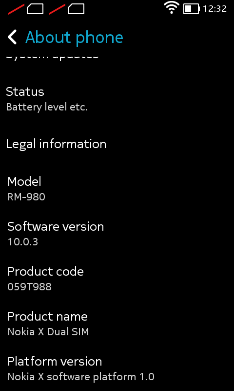 Screenshot 2014 03 11 12 32 22 - Nokia X Unboxing and Review