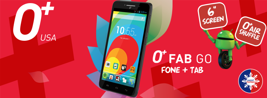 O+ Announces Fab Go, An Affordable Phone + Tablet in 1