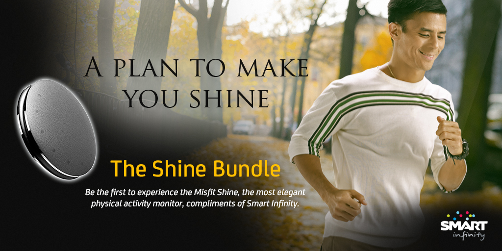 Wearable Device, Shine, Is Now Available in the Philippines thru Smart Infinity