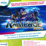 Are you going to Rampage 2014?