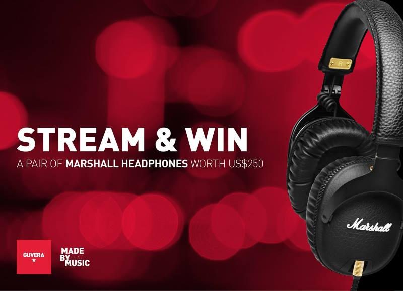 10629570 616132015162590 6271237121269324363 n - Stream Using Guvera, Get a Chance to Win Marshall Headphones