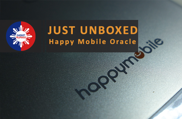 Feature Photo Blog - Happy Mobile Oracle Unboxing Video