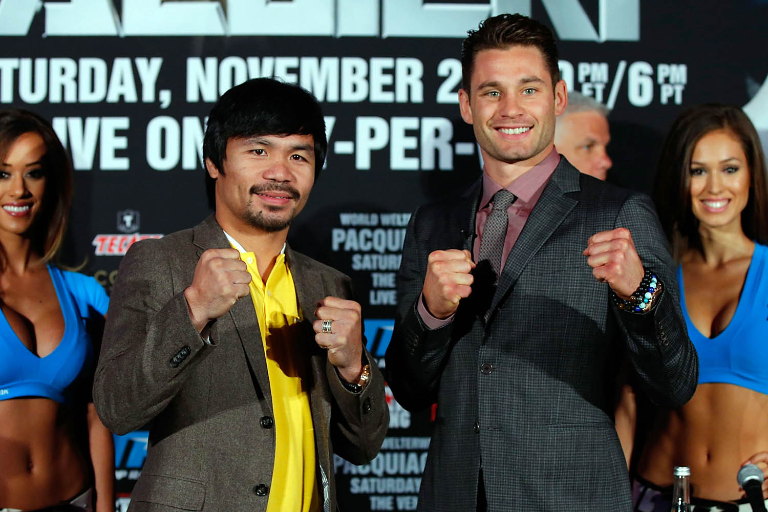 Watch Pacquiao-Algieri Fight via BLINK App