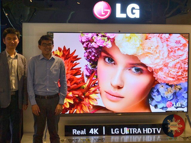 LG UHDTV GP - LG Philippines releases 98-inch Ultra HD 4K TV