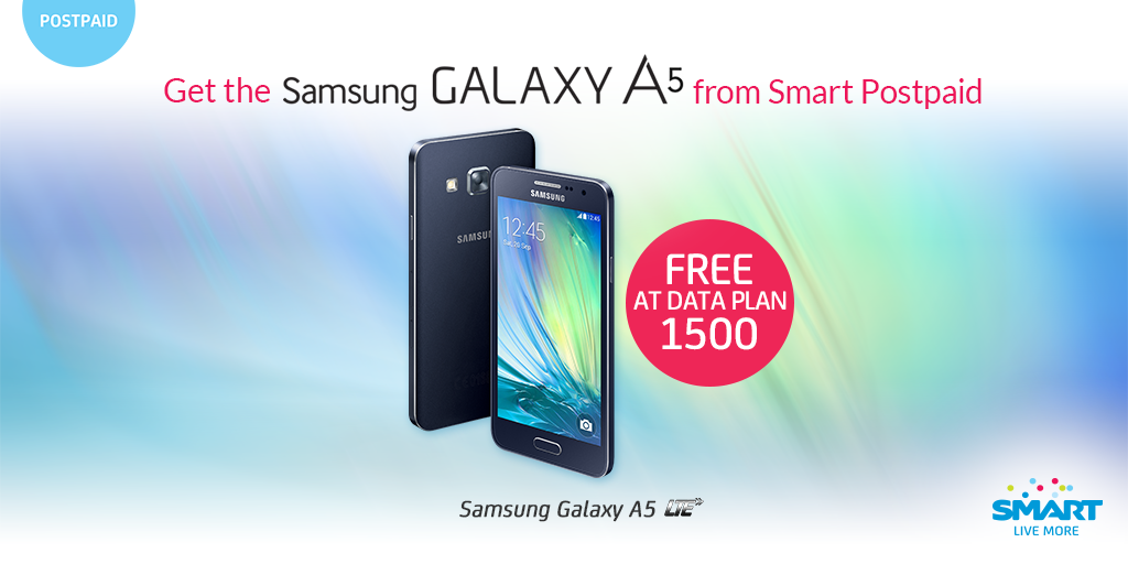 Smart Starts Offering the All-Metal Galaxy A3 and A5, Free at Data Plan 1500