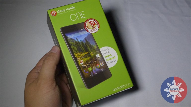 Cherry Mobile One Unboxing, Video and Photos here