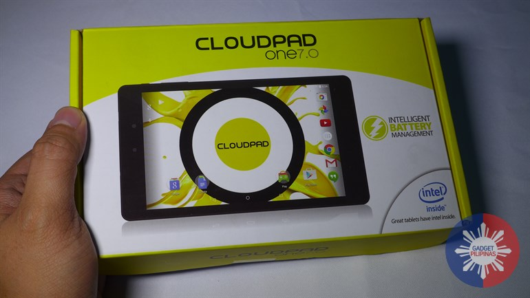 Here's Your First Look at the Cloudfone Cloudpad One 7.0, the First Android Lollipop Tablet in the Philippines