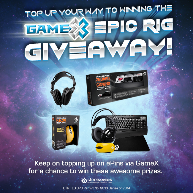 Gamex Epic Rig prizes