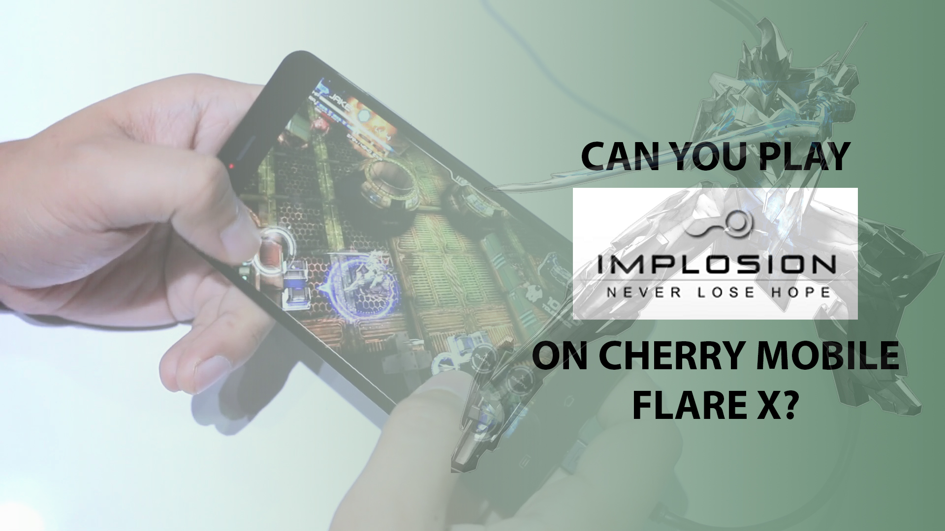 cherry mobile flare x, Can You Play Implosion on Cherry Mobile Flare X?, Gadget Pilipinas