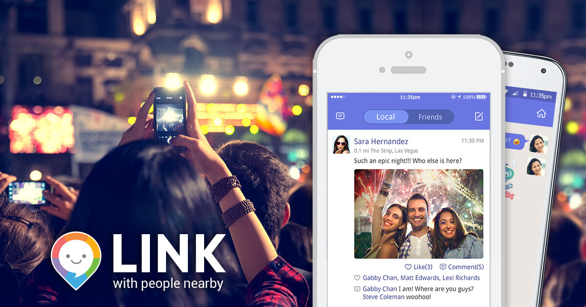 Link FbAd 03 Moment - LINK Messenger App lets you Connect to your Favorite Online Stars