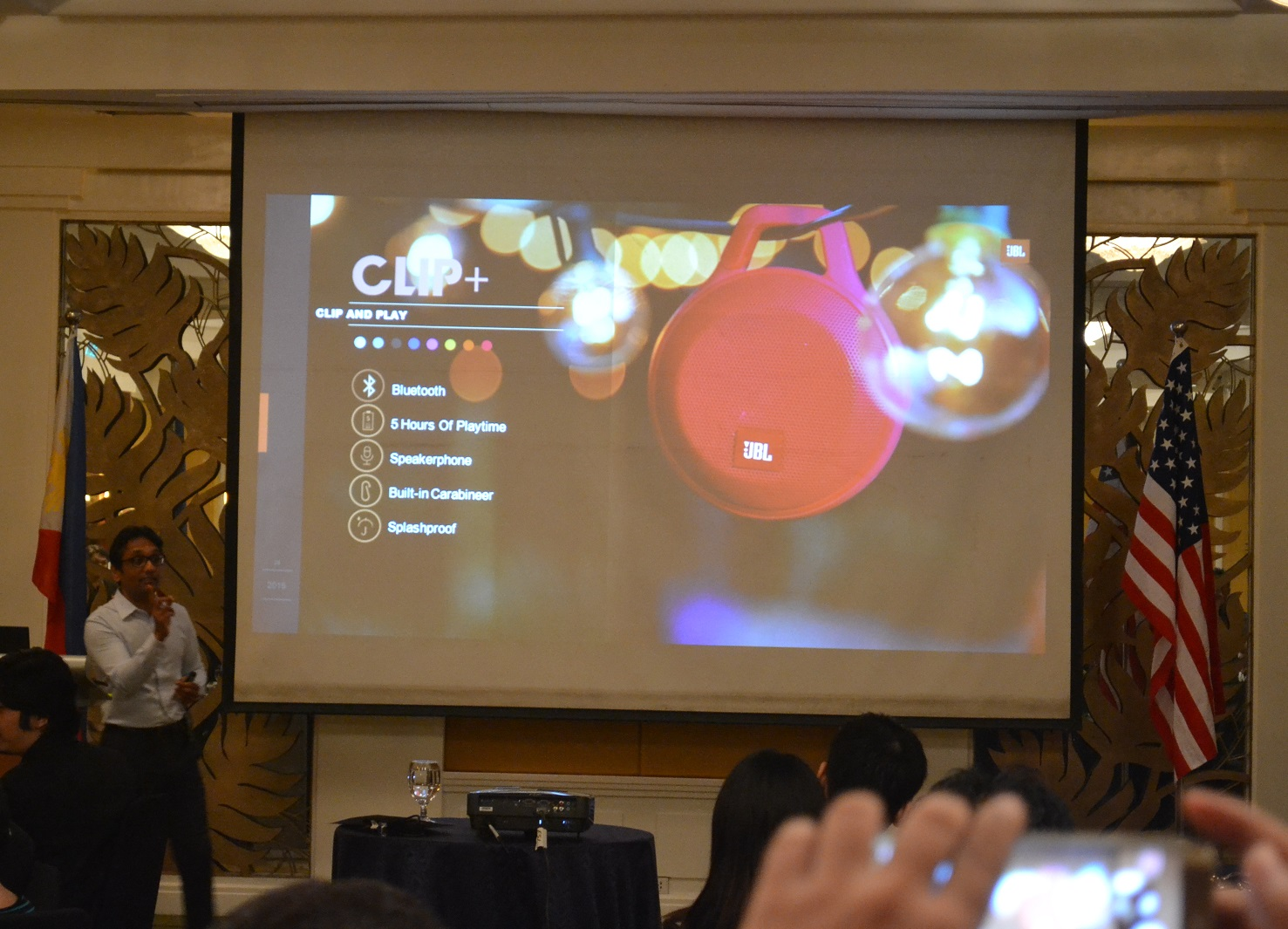 DSC 0036 - JBL Clip+ and Charge 2+ now available locally, priced Php  2,995 and Php 7,995, respectively