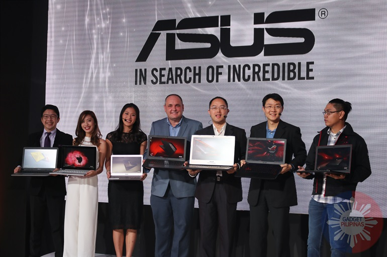ASUS ROG Launch 58 - Asus launches notebooks with 6th-gen Intel Core processors and Windows 10 in the Philippines