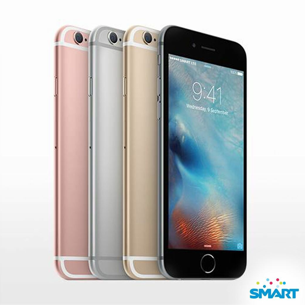 Smart iPhone 6s - Smart reveals iPhone 6s and iPhone 6s Plus Plans, FREE at Plan 2000 and Plan 2499 Respectively