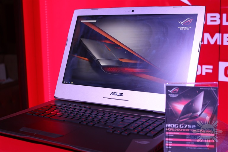 ASUS ROG Launch 721 - Asus launches new ROG notebooks with 6th-gen Intel processors and NVIDIA graphics