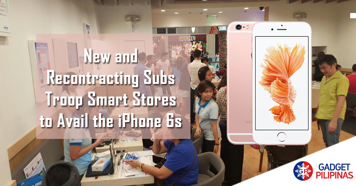 New and Recontracting Subs Troop Smart Stores to Avail the iPhone 6s