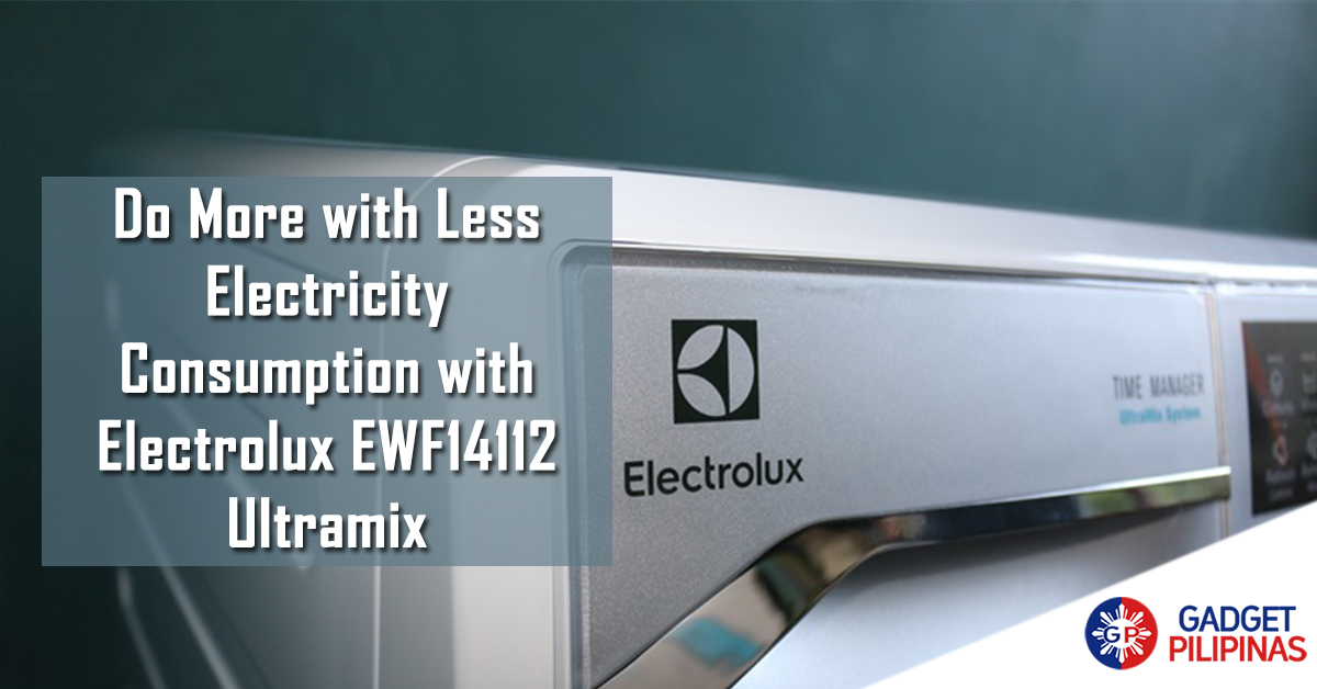 Featured Photo1 - Do More with Less Electricity Consumption with Electrolux EWF14112 Ultramix