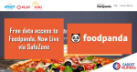 Free data access to Foodpanda, Now Live via SafeZone