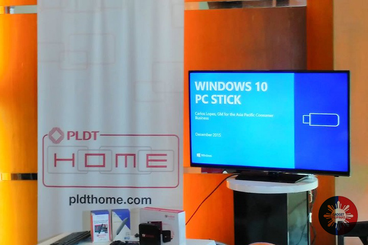 PLDT TVolution Stick - PLDT and Microsoft team up to launch TVolution Stick with Windows 10 in the Philippines
