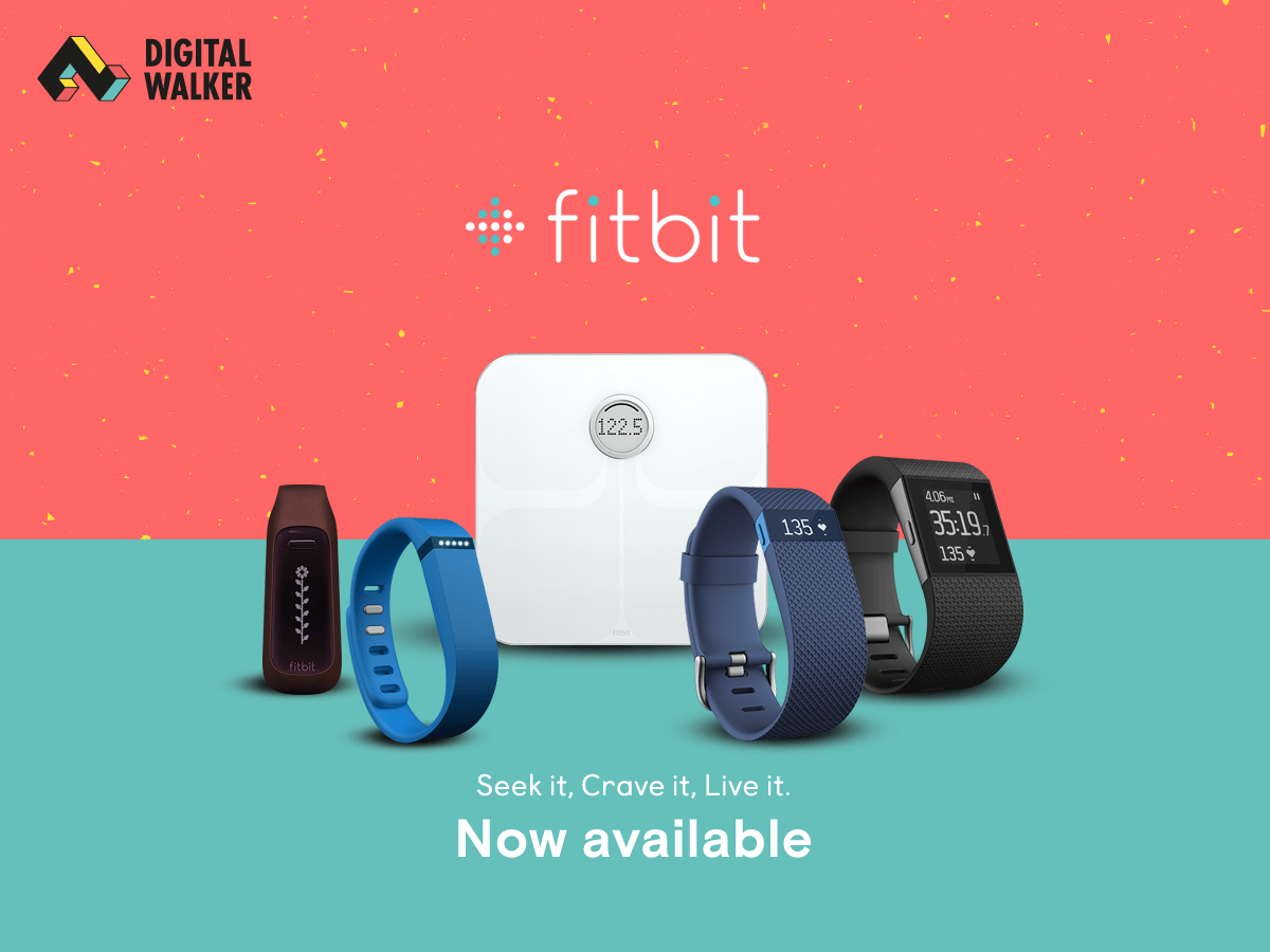 Fitbit Wearables, Now Available at Digital Walker