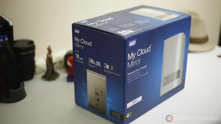 My Cloud Mirror 1 - WD My Cloud Mirror Unboxing and First Impressions